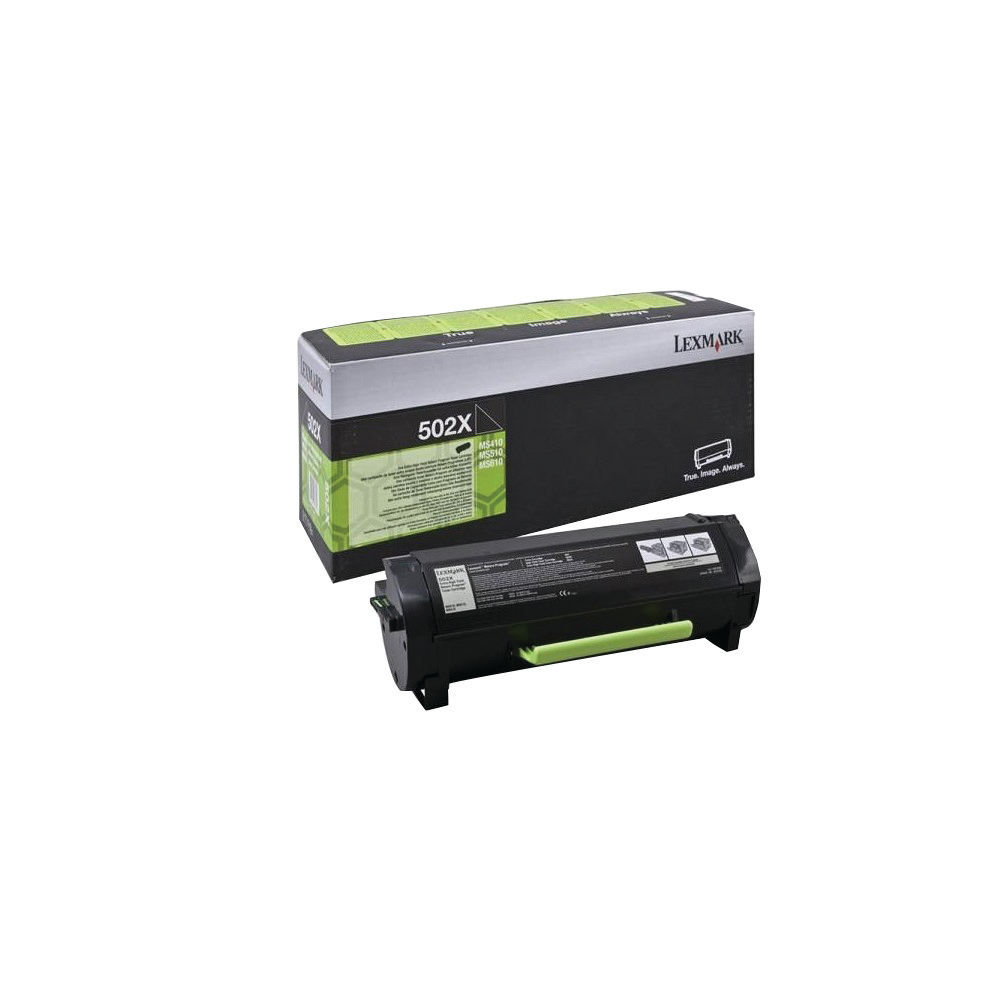 Lexmark 502XE Black Extra High Yield Return Programme Toner 50F2X0E
