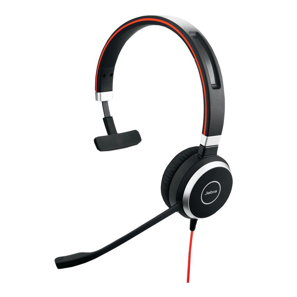 Jabra Evolve 40 Mono MS Headset - 6393-823-109