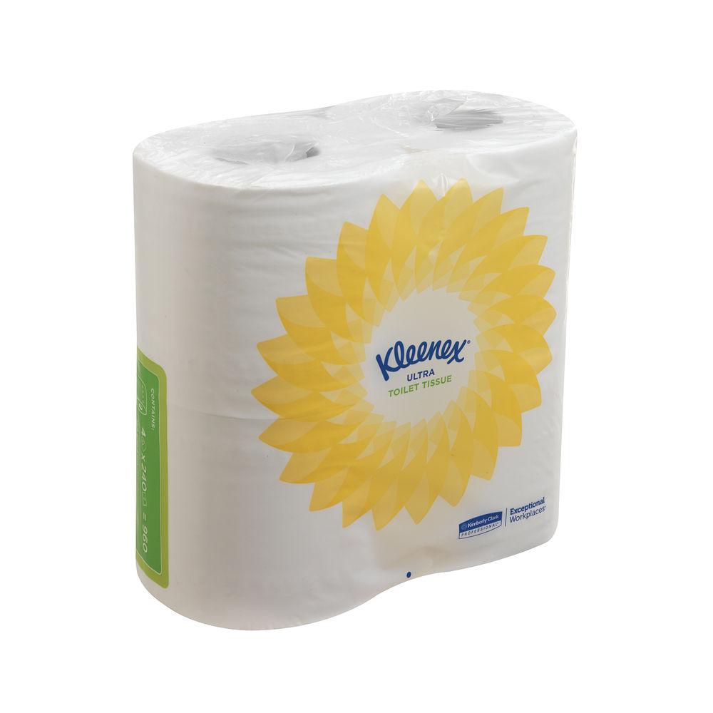 Kleenex 2-Ply Ultra Toilet Tissue, Pack of 40 - 8475