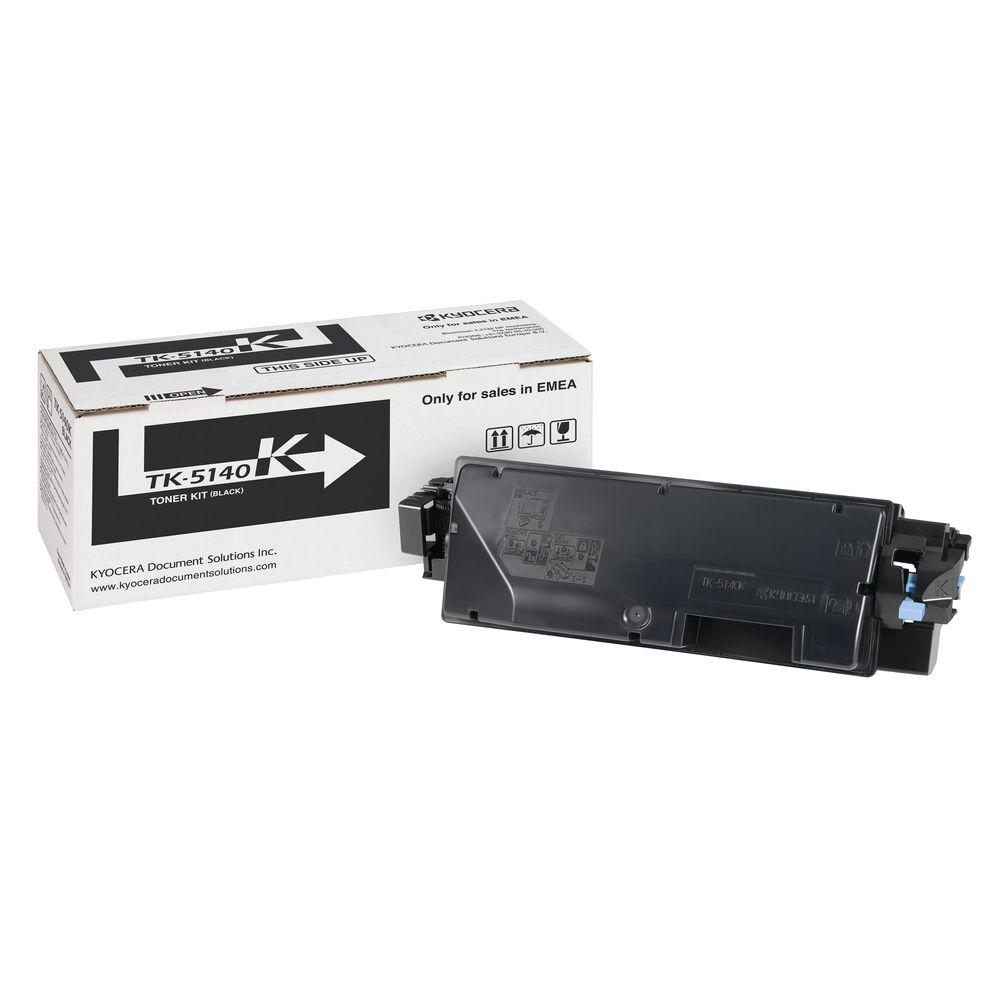 Kyocera TK-5140K Black Toner Cartridge - TK-5140K