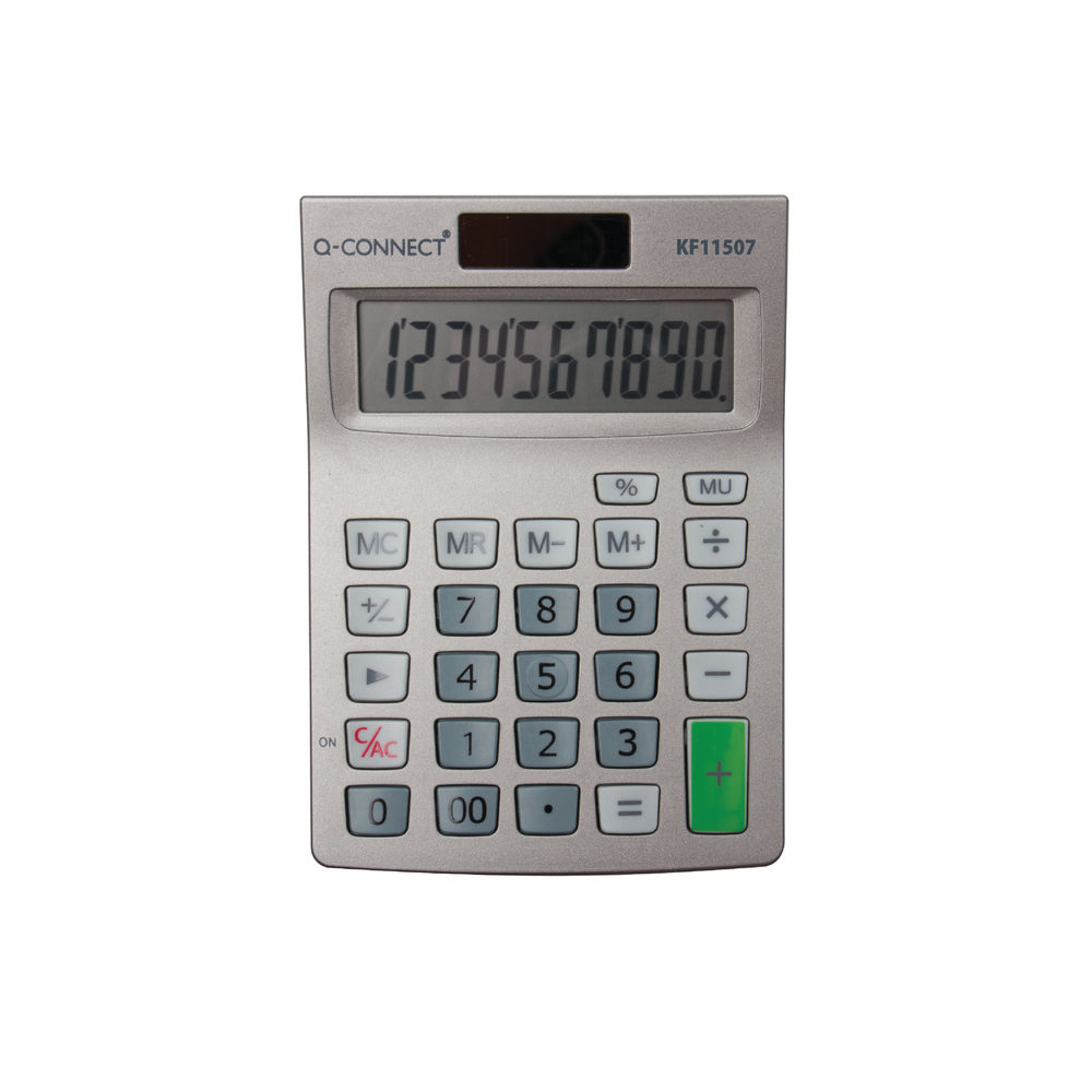 Q-Connect Semi-Desktop 10-Digit Calculator - KF11507