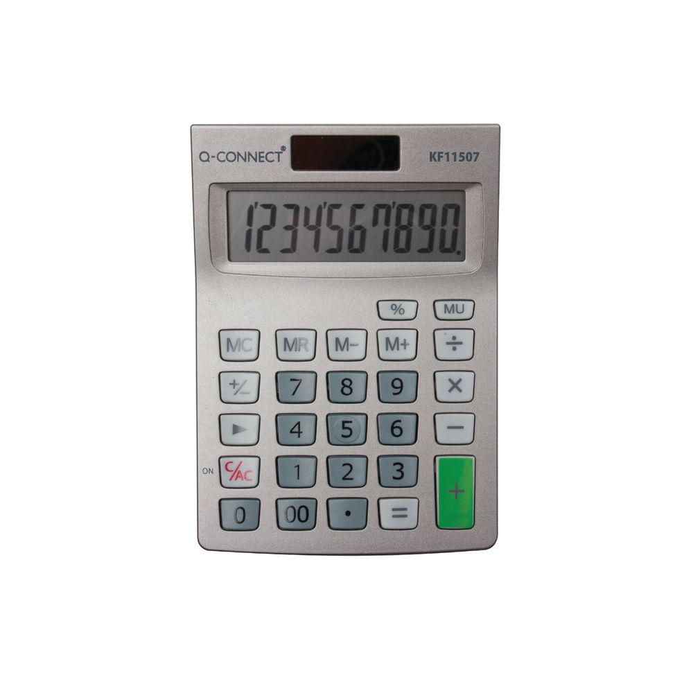 Q-Connect Semi-Desktop 10-Digit Calculator - KF11507