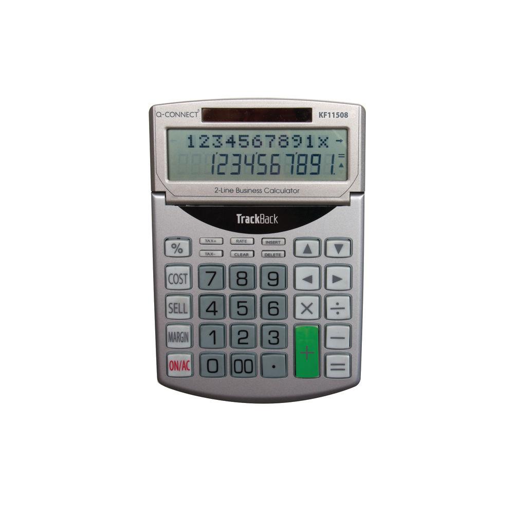 Q-Connect Semi-Desktop 12 Digit Calculator - KF11508