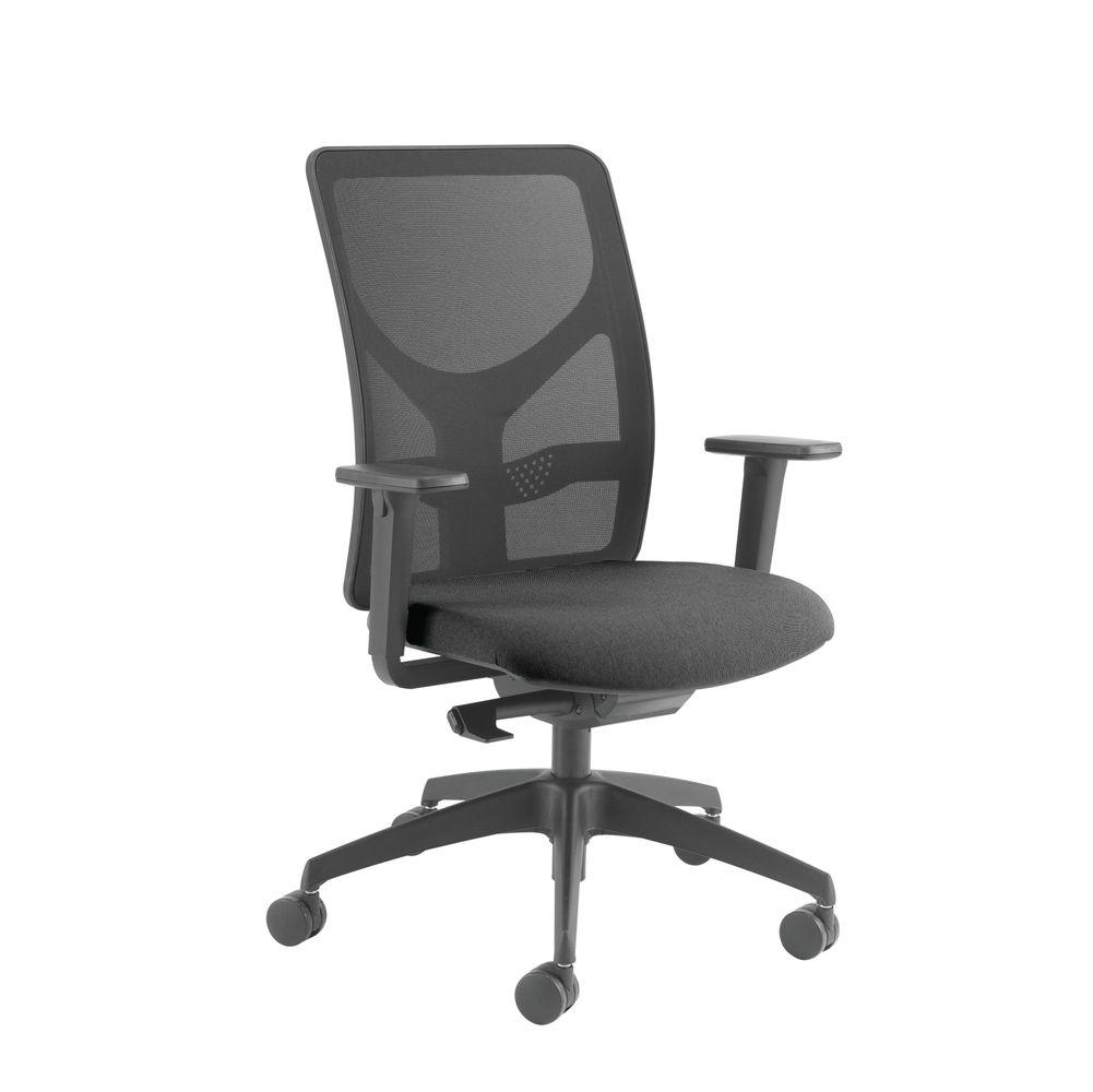Cappela Eaze Black Mesh Task Office Chair