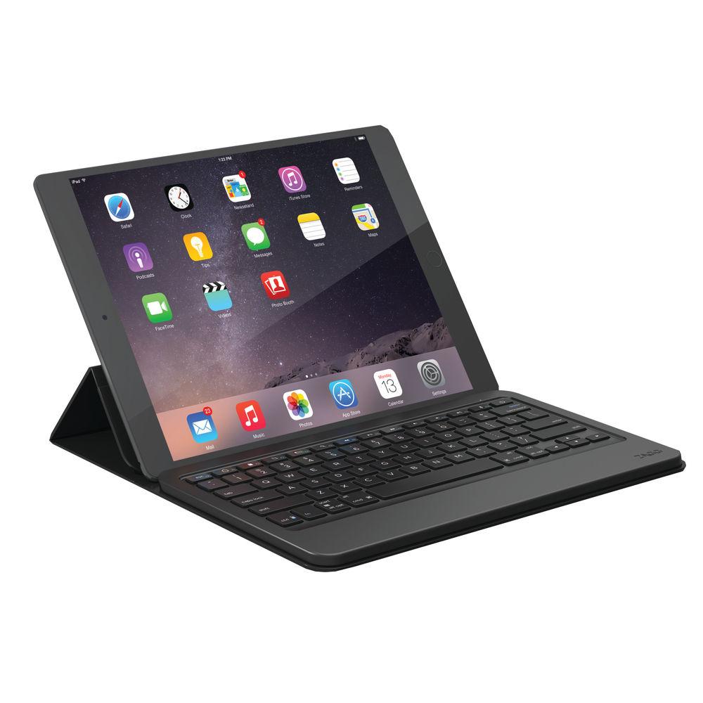 Zagg Messenger Case with Keyboard, Black, 12 Inch - ZGUNM2-BKU