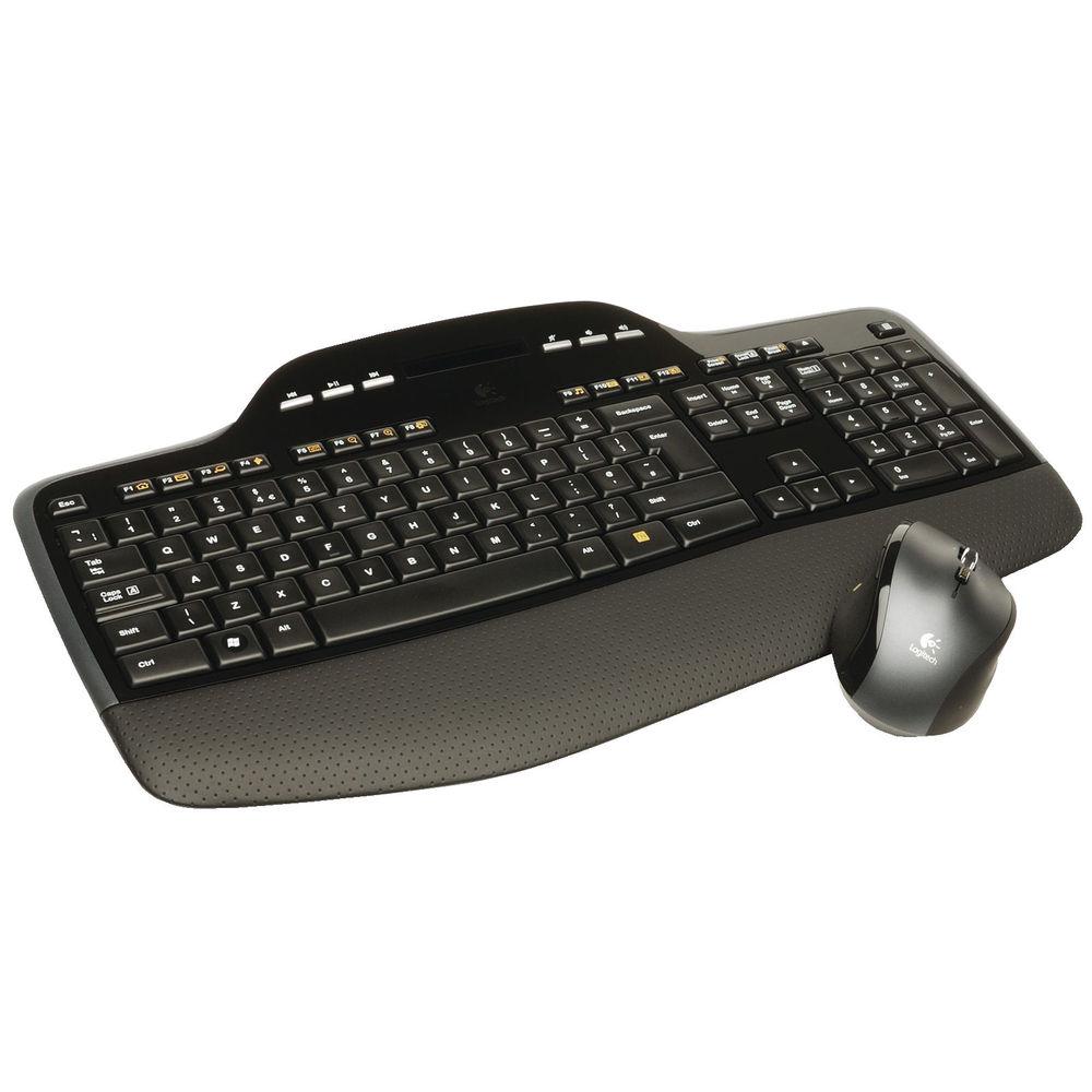 Logitech Wireless MK710 Desktop Keyboard and Mouse Set - 920-002429