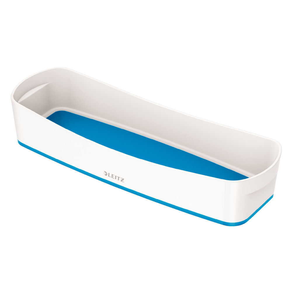 Leitz MyBox Organiser Long Tray White Blue - 52581036