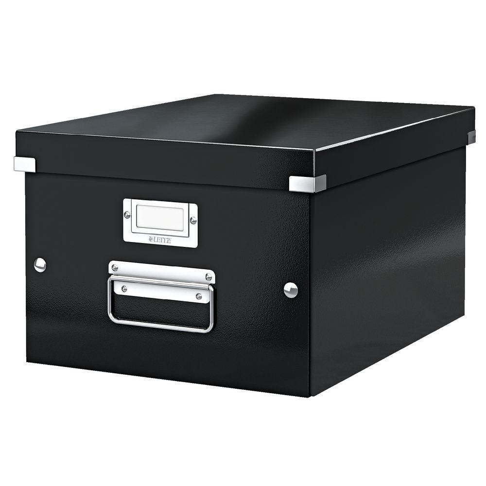 Leitz Click and Store Black Medium Storage Box - 60440095