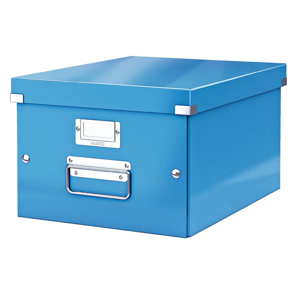 Leitz Click and Store Blue Medium Storage Box - 60440036