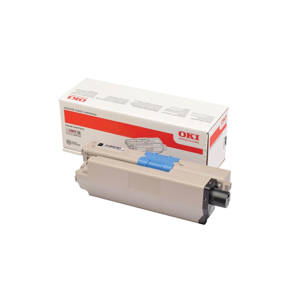 Oki C332 Black Toner Cartridge - 46508712