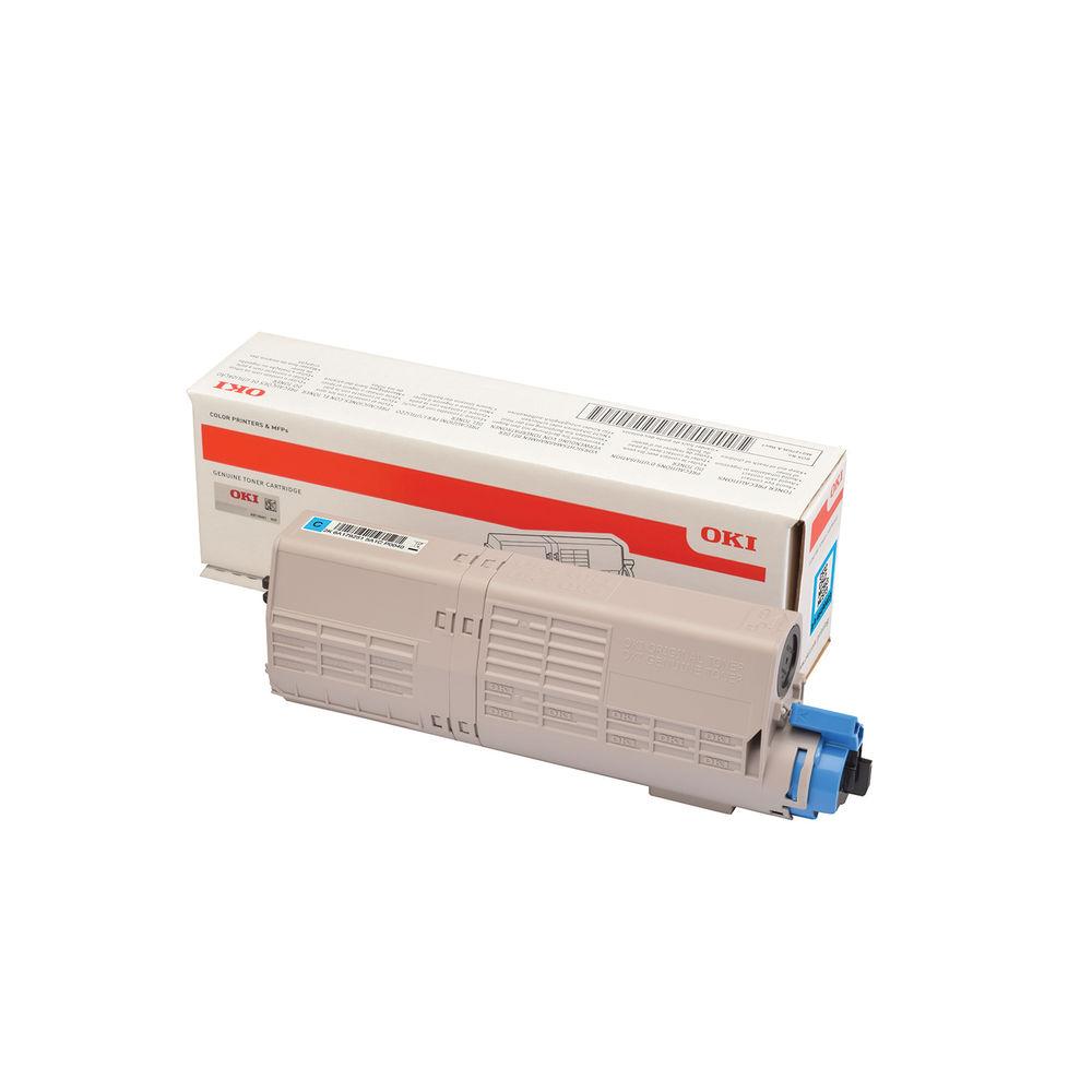 Oki C532 Cyan Toner MC573 1.5k 46490403