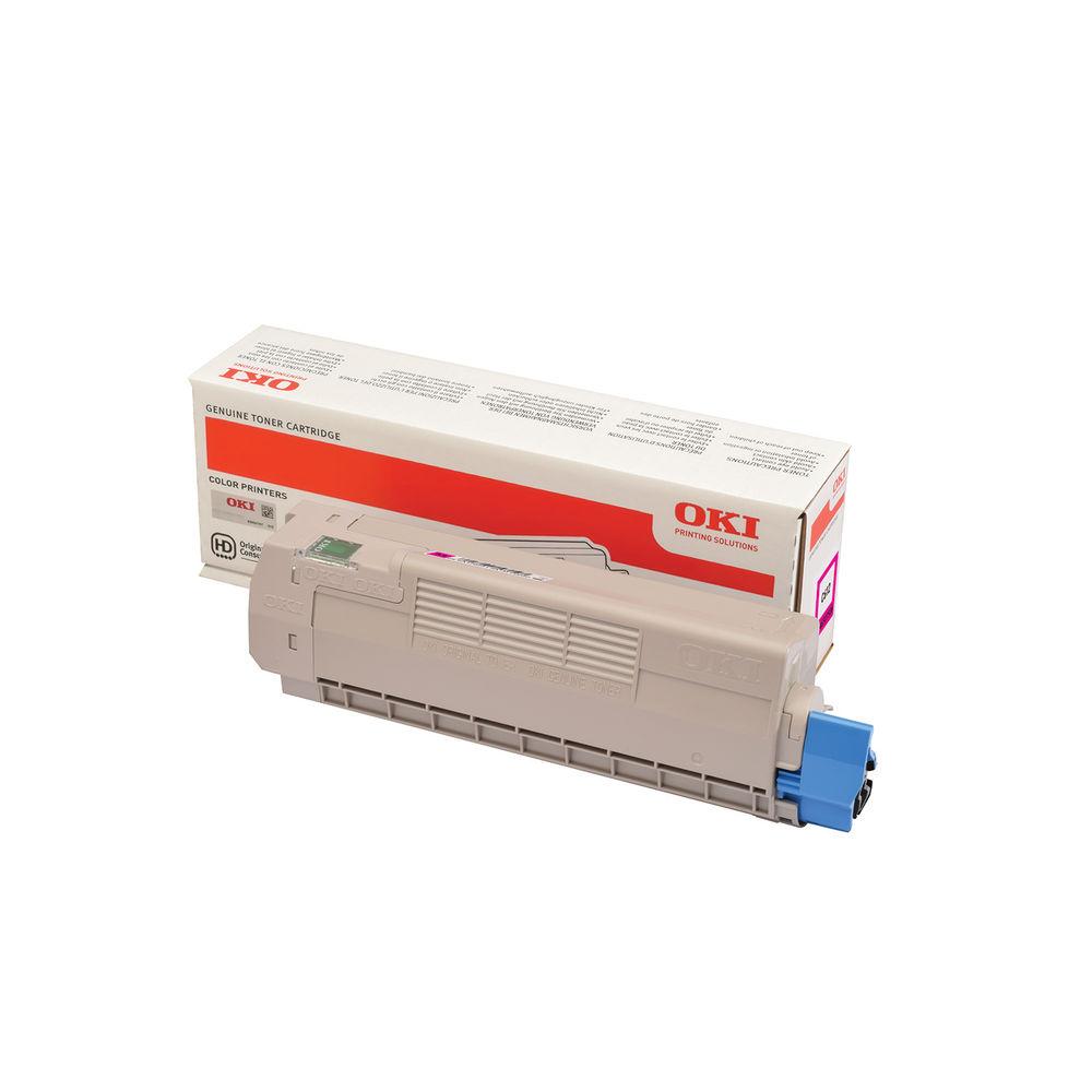 Oki C612 Magenta Toner Cartridge (6,000 Page Capacity) 46507506