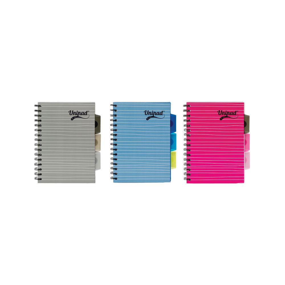 Pukka Pad A5 Unipad Project Books, Pack of 12 - 6201-UNI