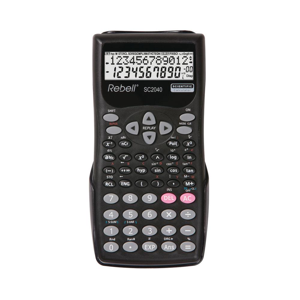 Rebell 2-Line Display Scientific Calculator - RE-SC2040 BX