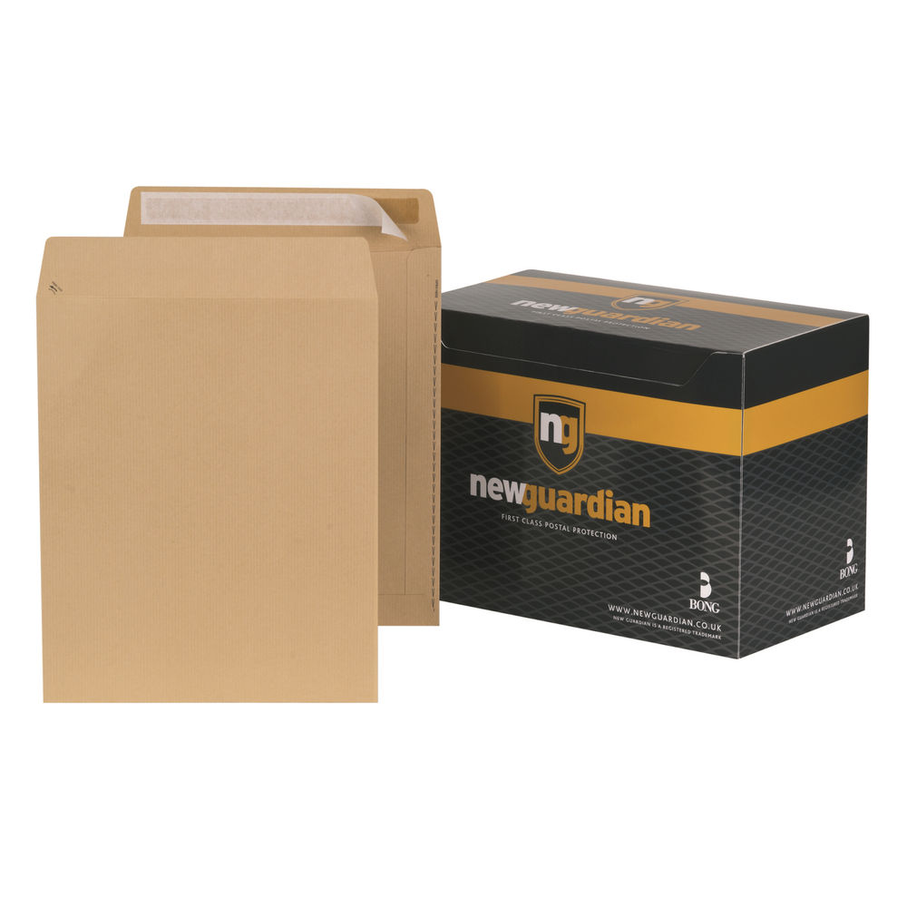 New Guardian Pro Manilla Peel and Seal C3 Envelopes 130gsm- Pack of 125 - C27013