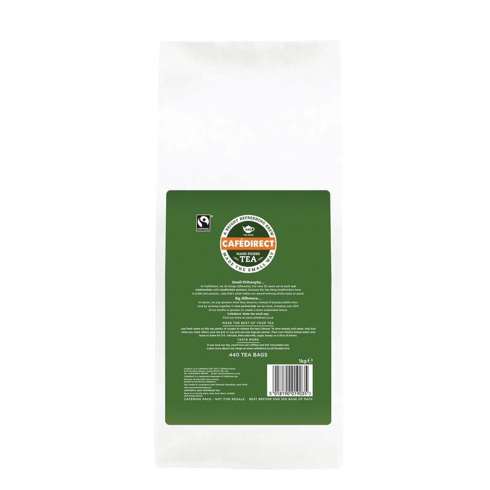 Cafedirect Fairtrade Everyday Tea Bags (Pack of 440) FTB0010