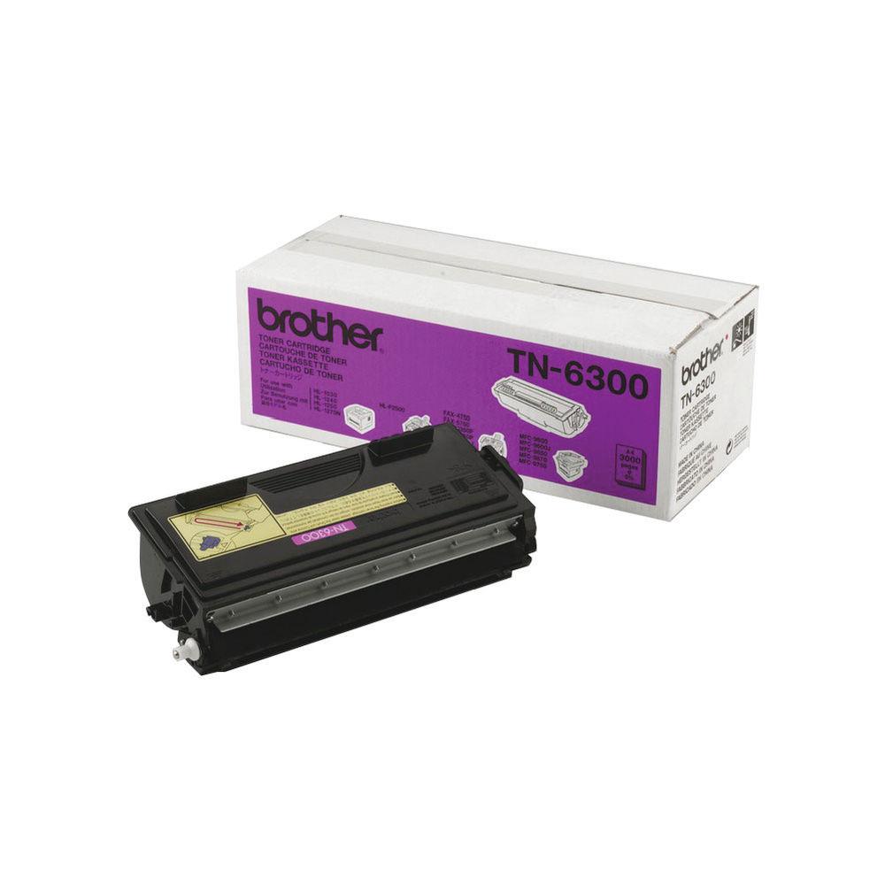 Brother HL-1030/Multifunctional 9000 Series Black Toner Cartridge TN6300