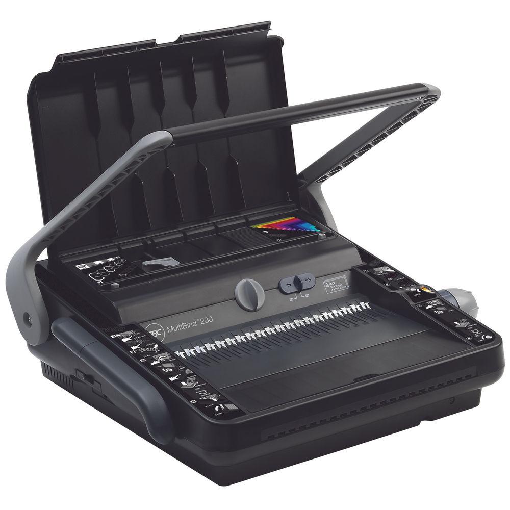 GBC MultiBind 230 Manual Comb and Wire Binding Machine - 4400423