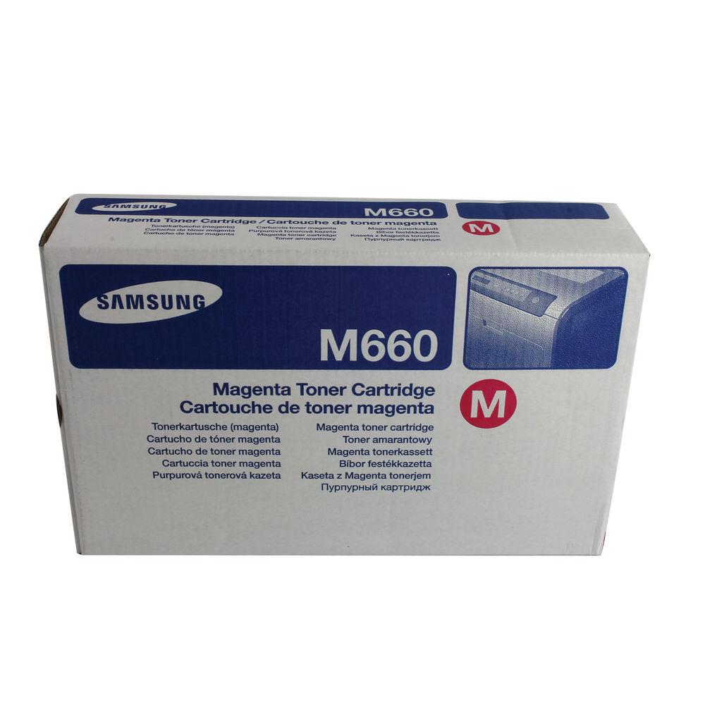 Samsung M660 Magenta Toner Cartridge - CLP-M660A/ELS