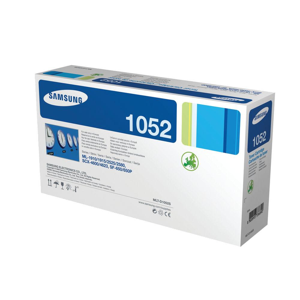 Samsung 1052S Black Toner Cartridge - MLT-D1052S/ELS