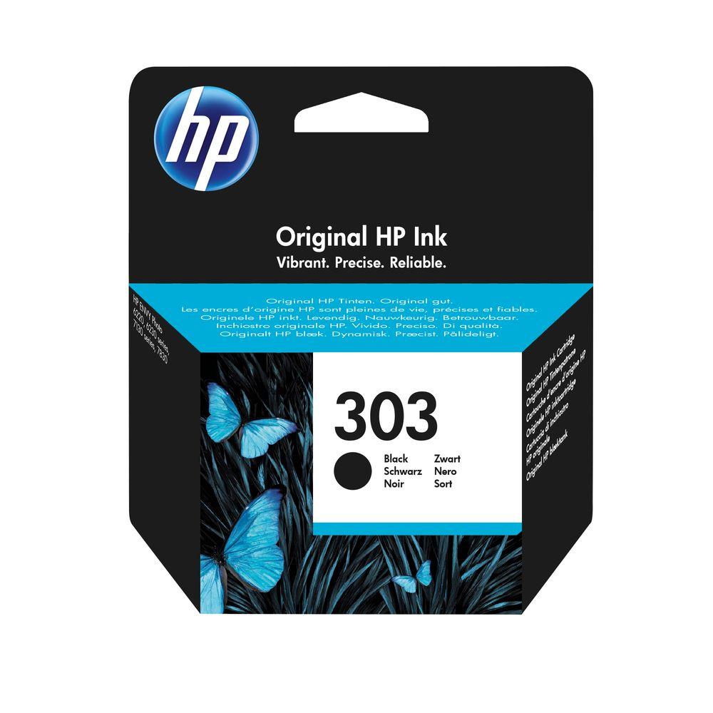 HP 303 Black Ink Cartridge | T6N02AE