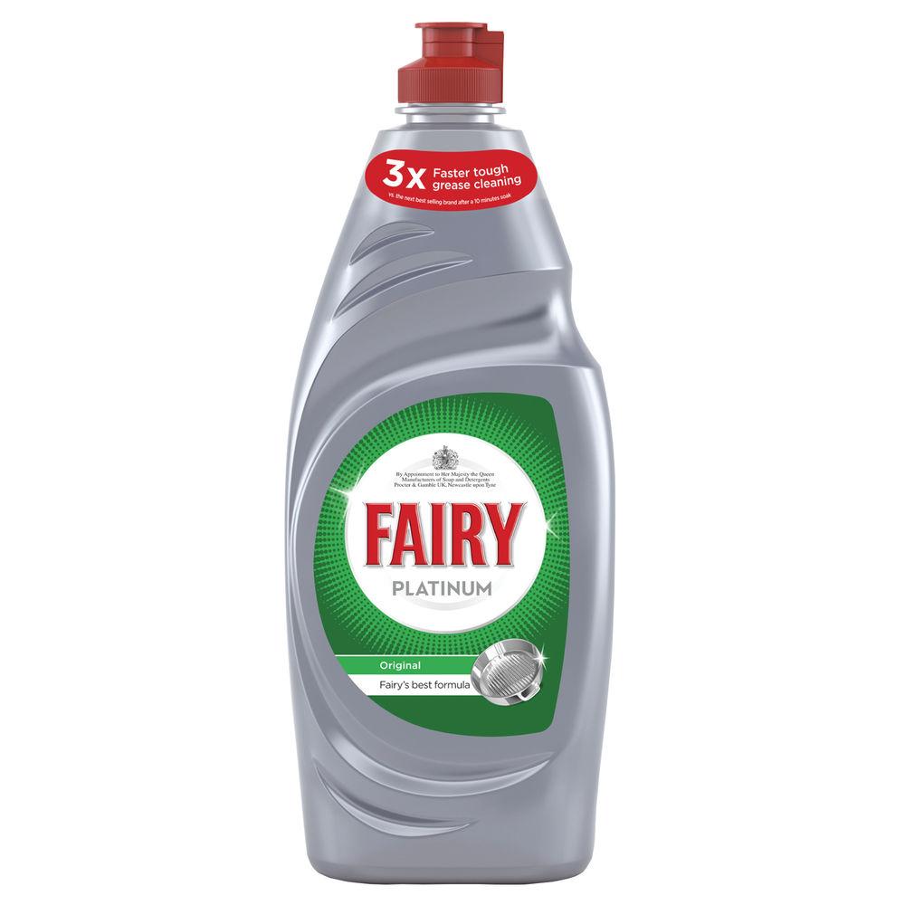 Fairy 615ml Platinum Washing Up Liquid - 4084500900509