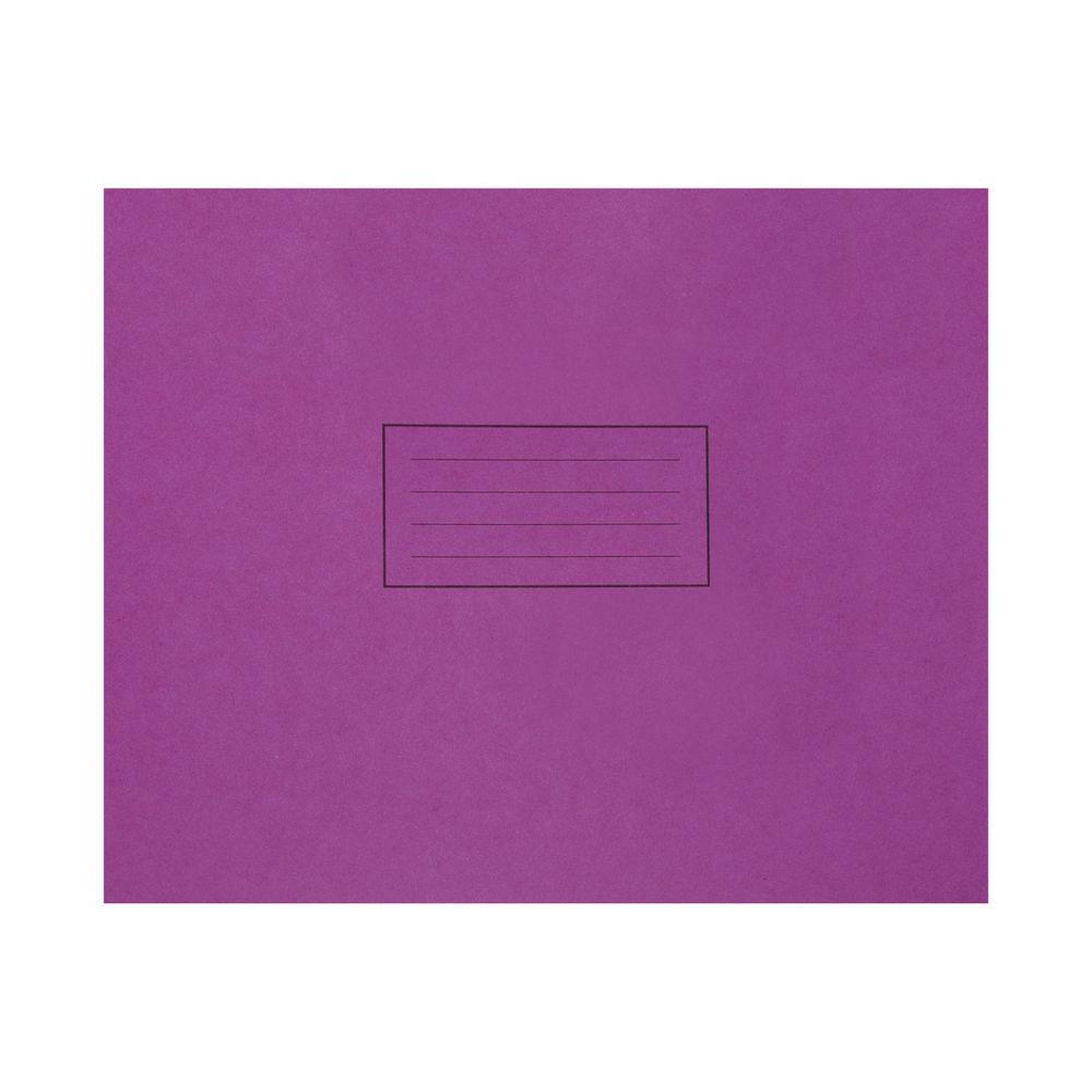 Silvine Purple 165 x 203mm Handwriting Books, Pack of 25 - EX190