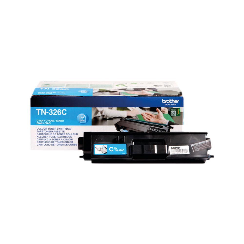 Brother TN326C High Capacity Cyan Toner Cartridge - TN326C