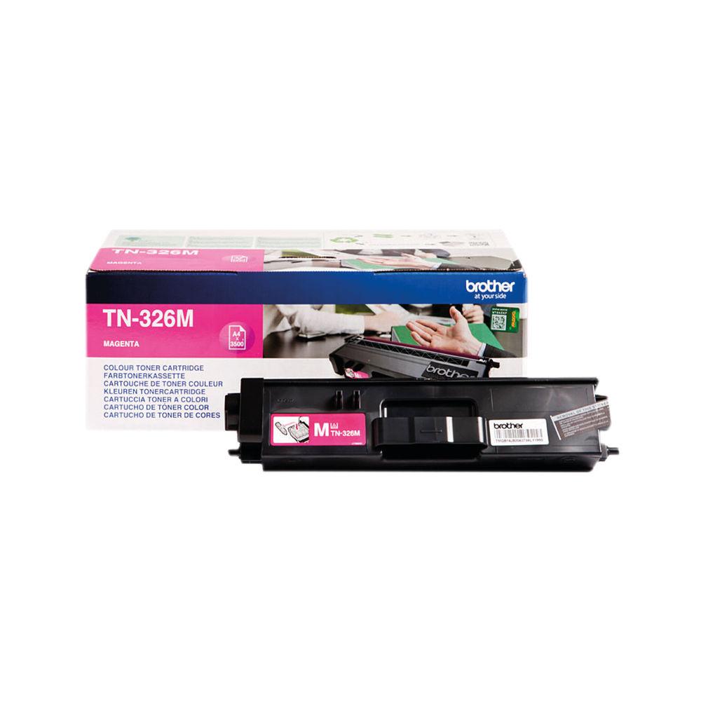 Brother TN326M High Capacity Magenta Toner Cartridge - TN326M