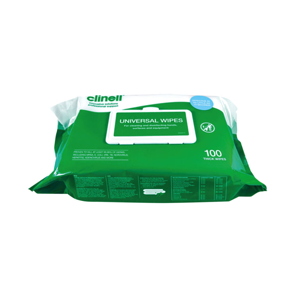 Clinell Universal Wipes (Pack of 100) – CM1907