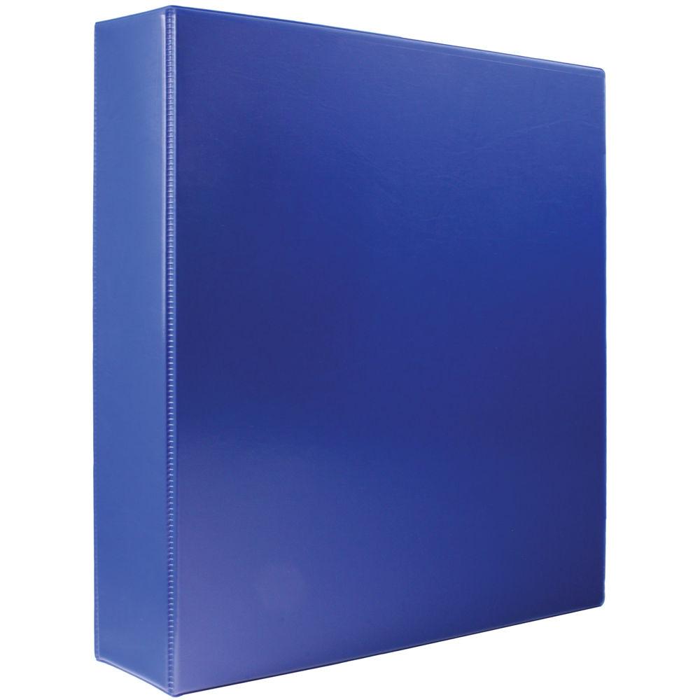 Blue A4 40mm 4 D-Ring Presentation Ring Binders (Pk10) - WX01331