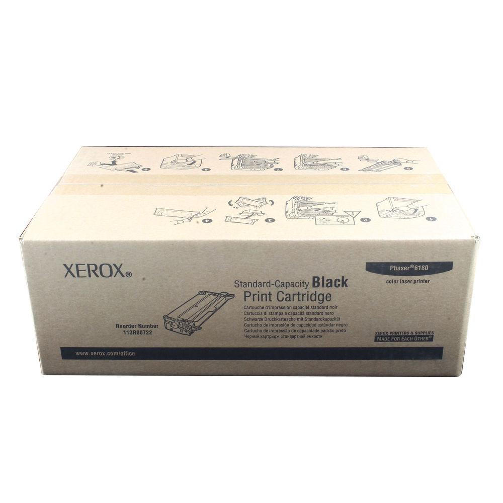 Xerox Phaser 6180 Black Laser Toner Cartridge 113R00722