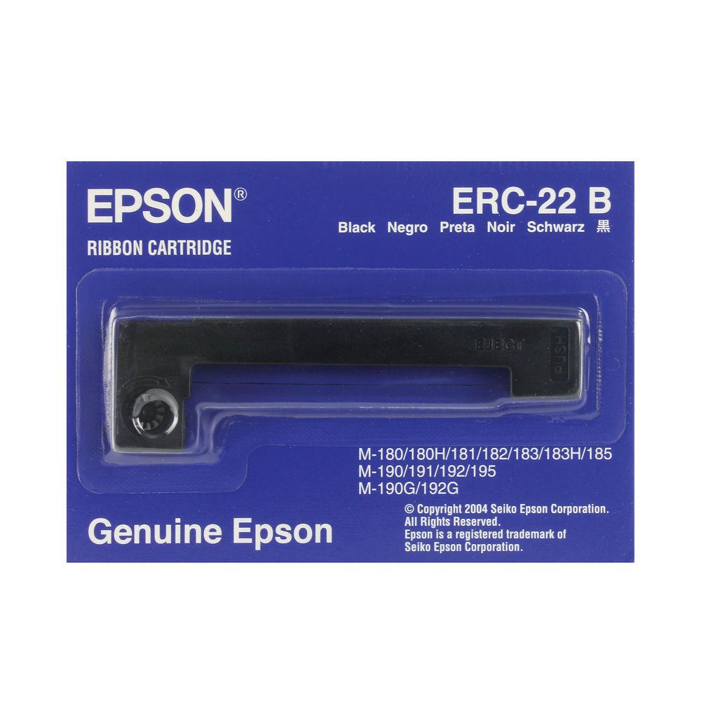 Epson ERC22B Fabric Black Ribbon C43S015358