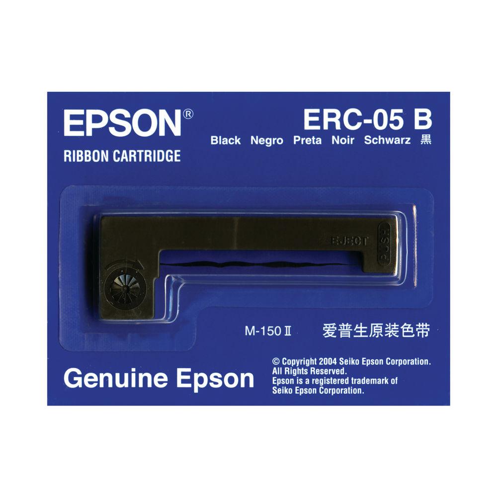 Epson ERC-05B Black Fabric Printer Ribbon   C43S015352