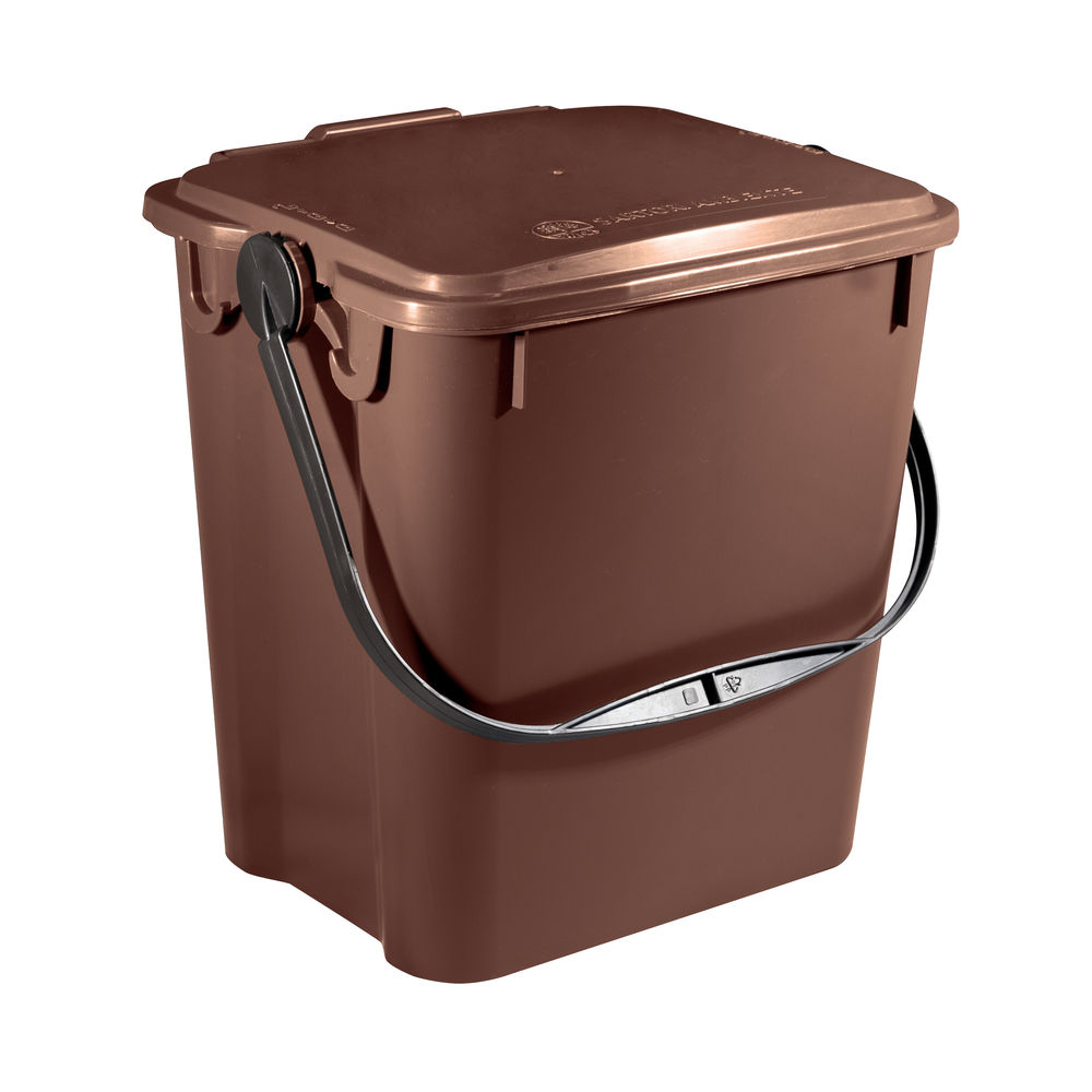 10 Litre Soiled Walled Kitchen Caddy - 378479