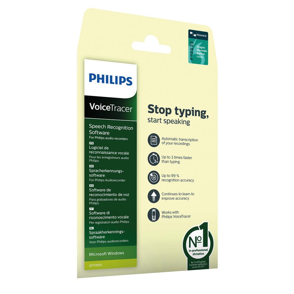Philips Speech Recognition Software – DVT2805