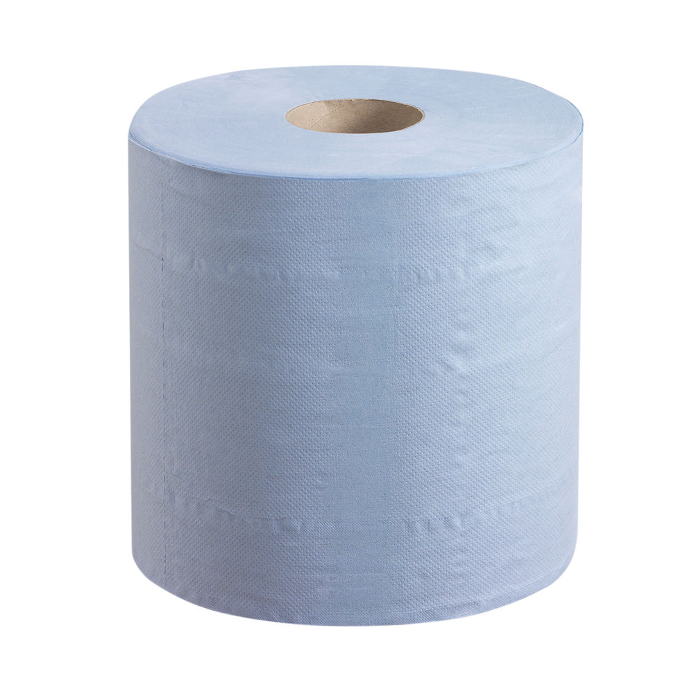 Wypall Blue L20 Essential Centrefeed Rolls, Pack of 6 - 7302