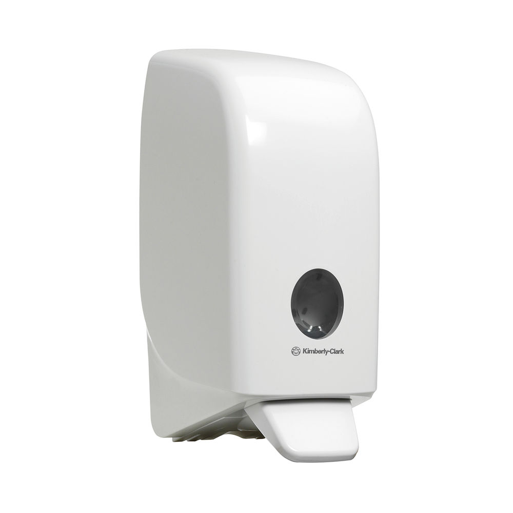 Aquarius Foam Sanitiser Dispenser White 6948