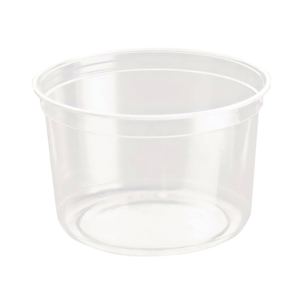 Caterpack 16oz Biodegradable rPet DeliGourmet Food Container - RY10581/DM16R