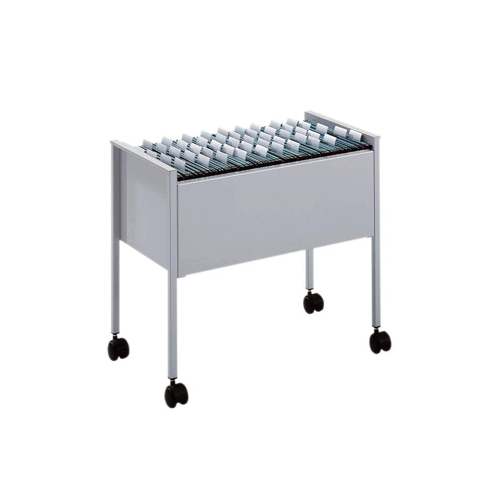 Durable Suspension File Trolley, Foolscap, Grey 3097-10