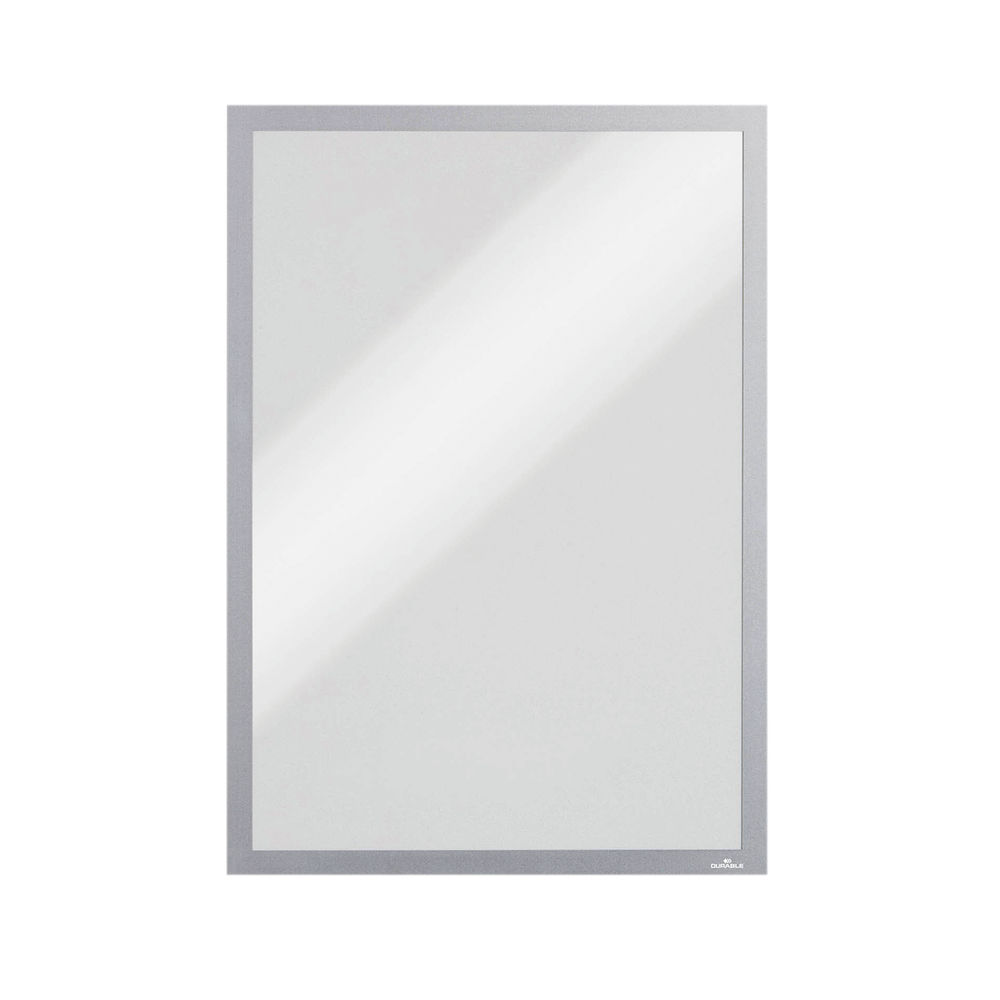 Durable Silver A3 Magnetic Duraframes, Pack of 5 - 486823