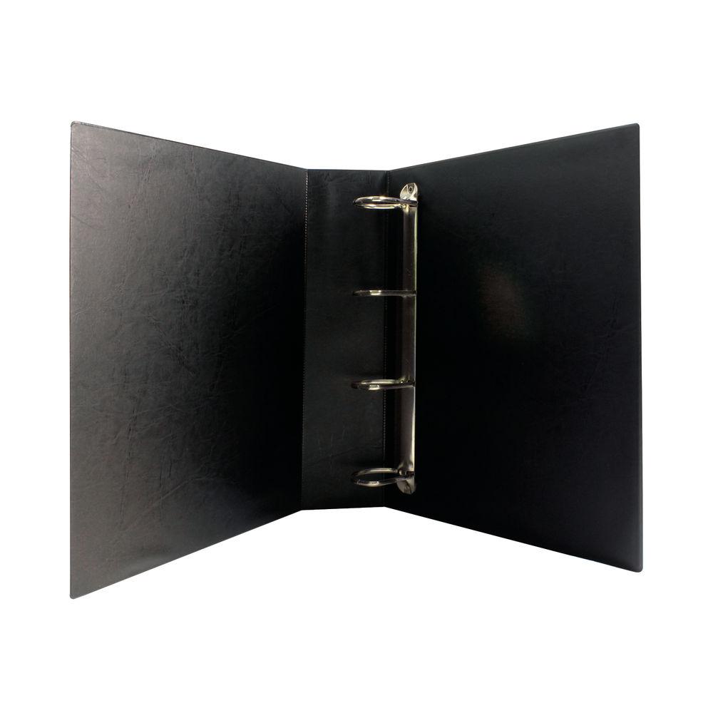 Black 50mm 4 D-Ring Presentation Binders (Pack of 10) - WX47660