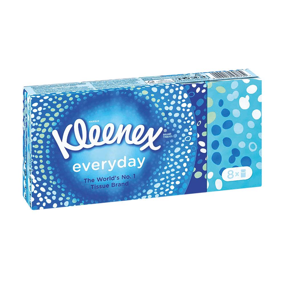 Kleenex Everyday Pocket Tissues, Pack of 144 - 1102136