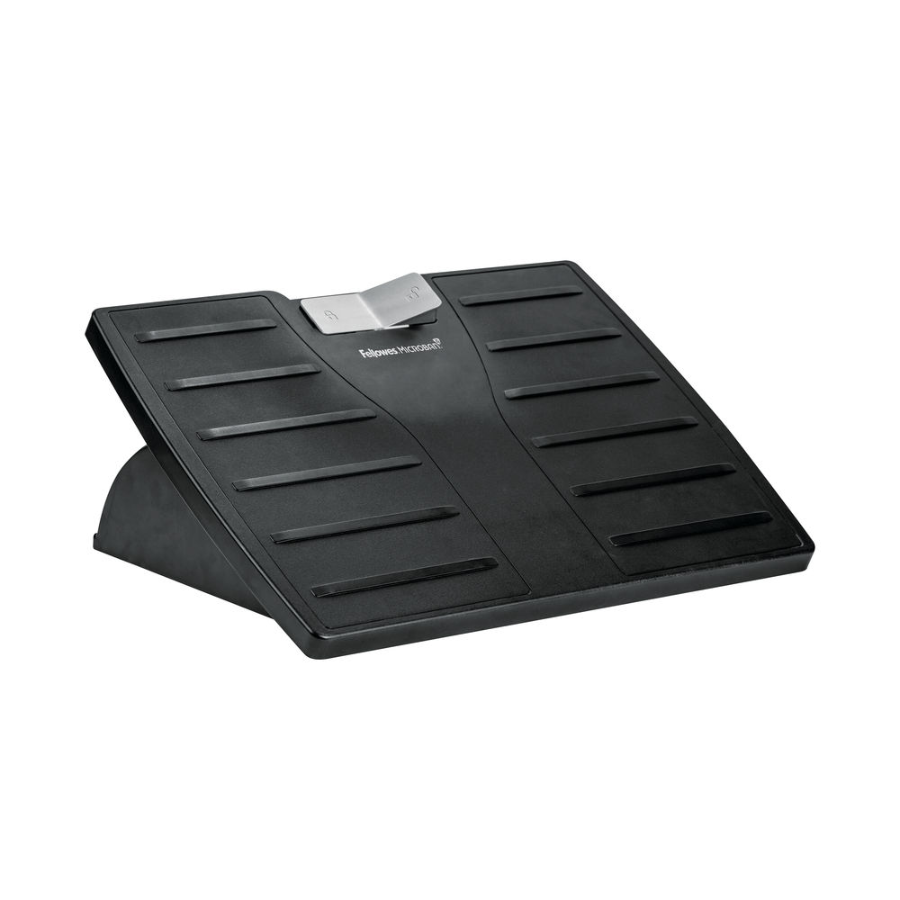 Fellowes Microban Adjustable Foot Rest Grey   8035001