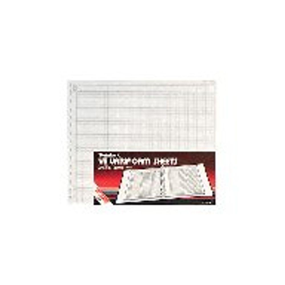 Twinlock Variform V8 Petty Cash Sheets, 4 Debit 16 Credit, Pack of 75 - 75990