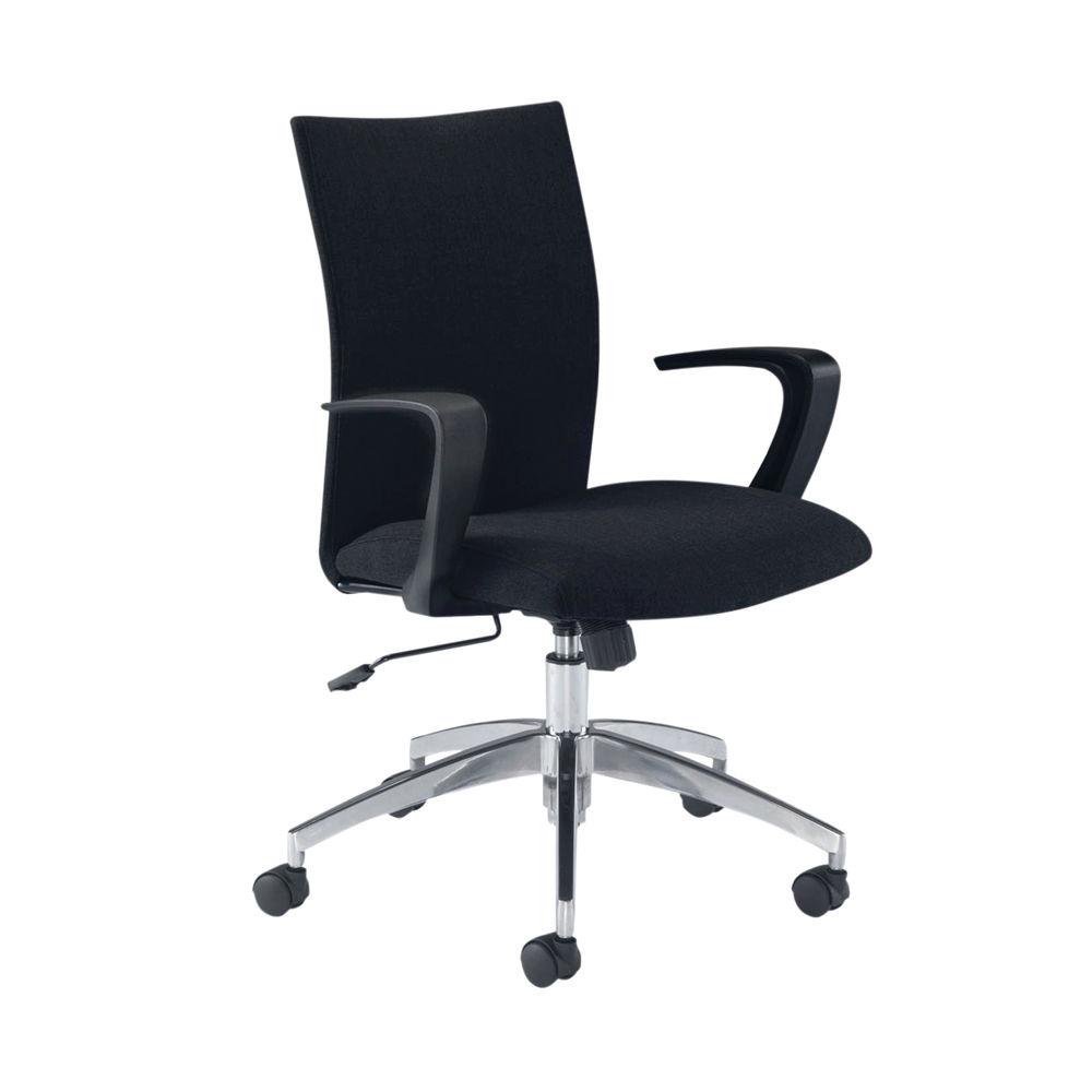 Arista Indus Black SOHO Office Chair