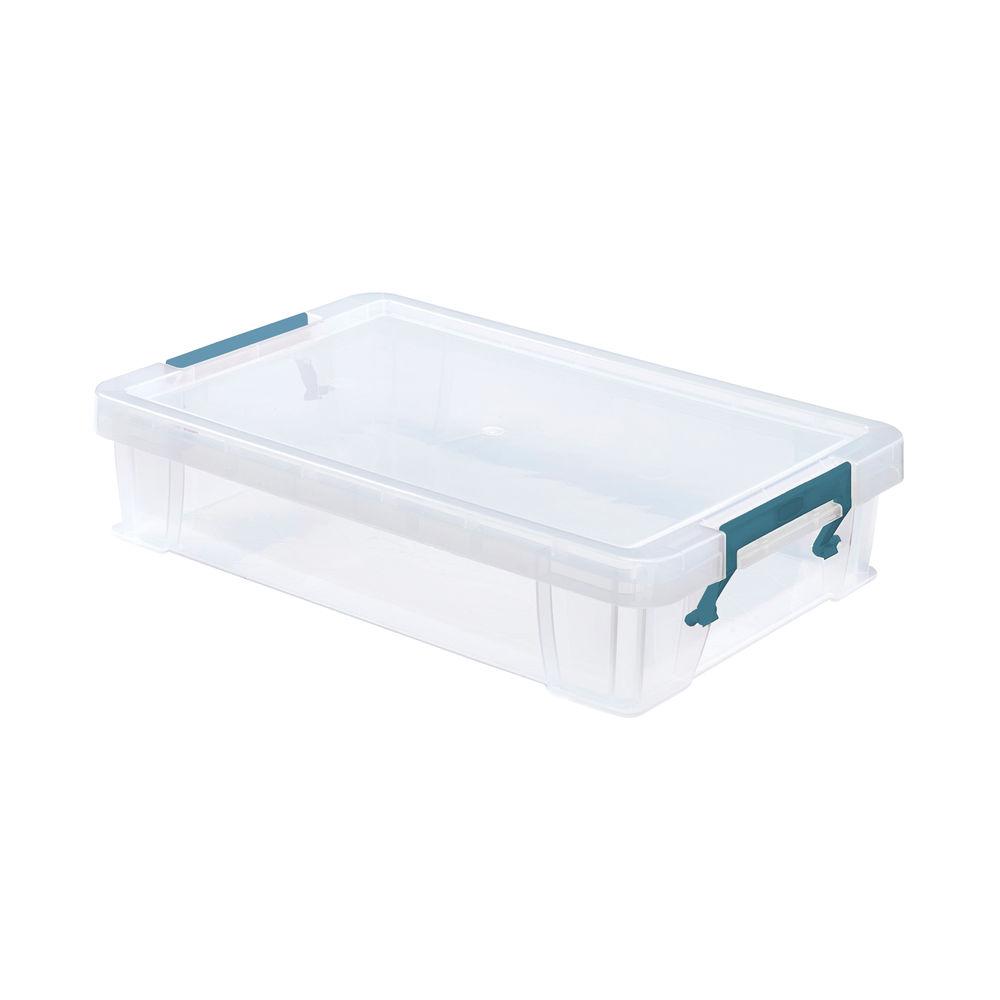 StoreStack 5.5 Litre Storage Box W400xD255xH80mm Clear RB90121