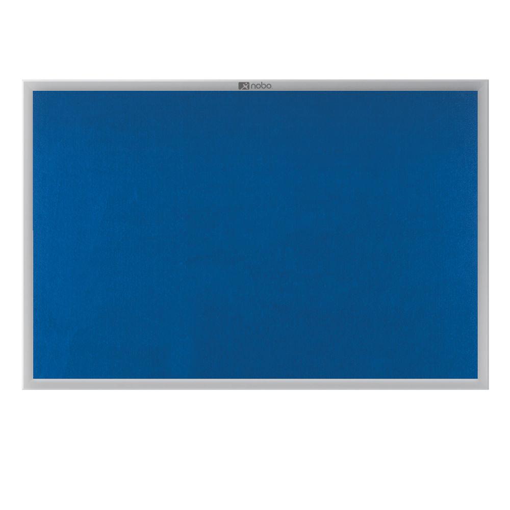 Nobo EuroPlus Notice Board in Blue - 30230174