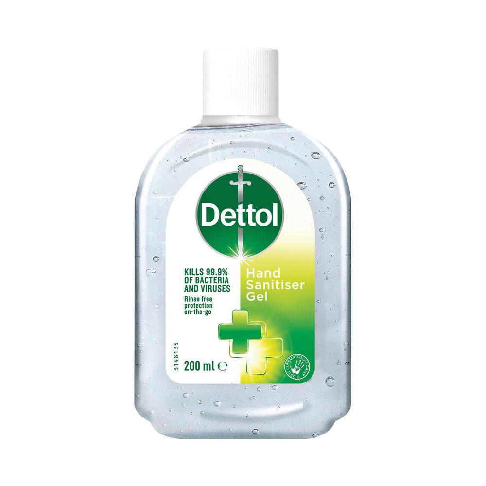 Avis Dettol Antibacterial Sanitiser 200ml C003469