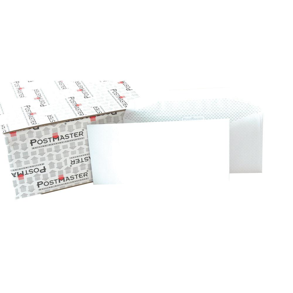Postmaster DL Envelope 114x235mm Gummed 90gsm White (Pack of 500) F29151